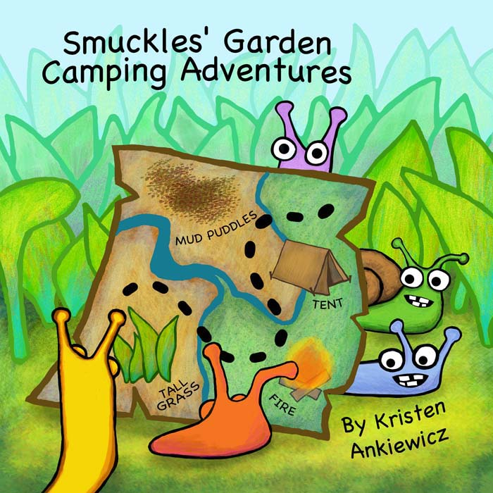 Smuckles goes camping with Sherman, Bananas, Snailio, Rosy.